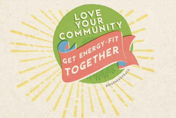 Love your community, get energy fit together!